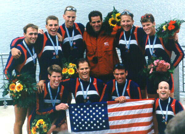 Men's Gold Medal Eight. Cologne, Germany 1998